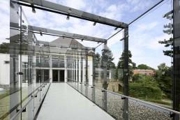 Jugendbildungsstätte Haus Wohldenberg Hubertushaus Glasflur