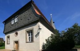 Ev.-luth. Kirche St. Moritz in Almstedt außen