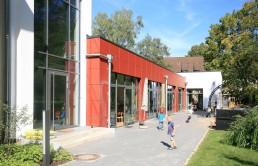 Kindertagesstätte Caritaszentrum Göttingen außen