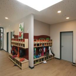 Kindertagesstätte Caritaszentrum Göttingen Garderobe