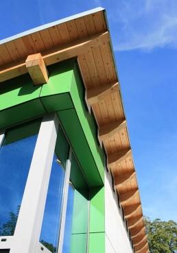 Kindertagesstätte Bockenem außen Detail Fassade
