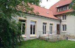 Pfarr- und Gemeindehaus Sibbesse Eingang