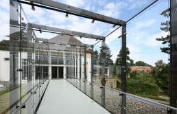 Jugendbildungsstätte Haus Wohldenberg Hubertushaus Glasgang